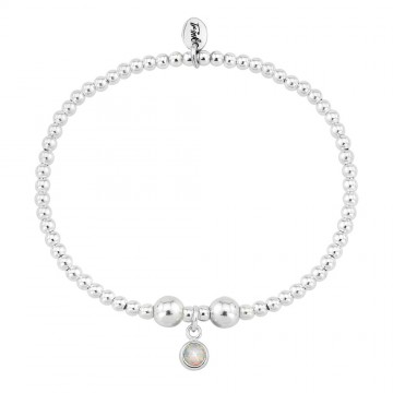 Birthstone Bracelet - October (Opal)