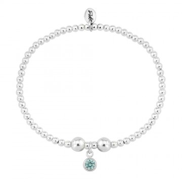 Birthstone Bracelet - March (Aquamarine)