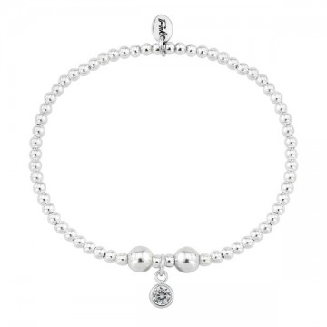 Birthstone Bracelet - April (Crystal)