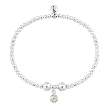 Birthstone Bracelet - June (Pearl)