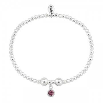 Birthstone Bracelet - July (Ruby)
