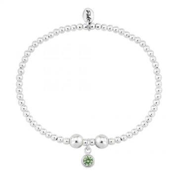 Birthstone Bracelet - August (Peridot)