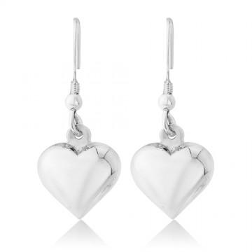 Heart of Silver Earrings
