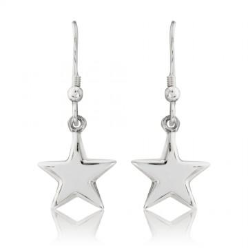 Puff Star Earrings