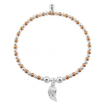 Angel Wing - Harlequin 9ct Rose Gold Plated