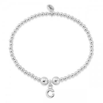C Letter Charm Bracelet