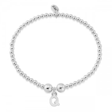 Q Letter Charm Bracelet