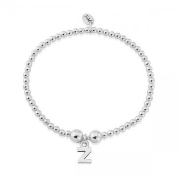 Z Letter Charm Bracelet