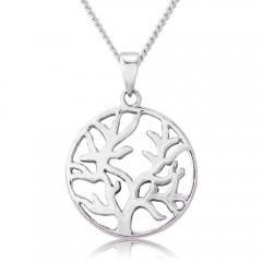 Circle Tree of Life Necklace